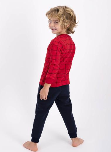 Spider-Man Erkek Çocuk Spıder-Man Eşofman Takımı Kırmızı-Lacı Kırmızı